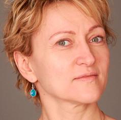 Olga without make-up