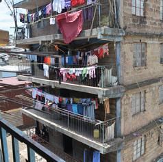Slum highrise
