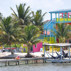Backpacker paradise, Caye Caulker