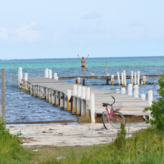 Yoga on Caye Caulker