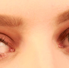 Eyes with make-up