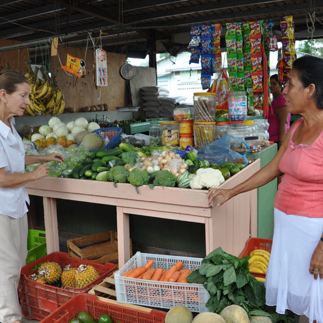 Market bargaining, San Ignacio