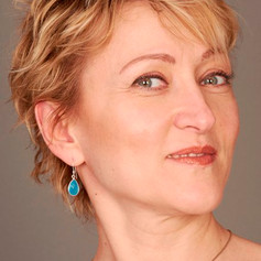 Olga with make-up
