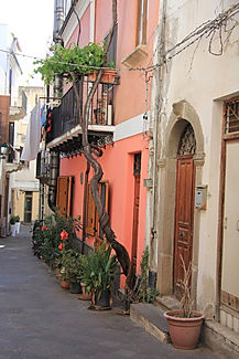 Sicile, Lipari, Eoliennes