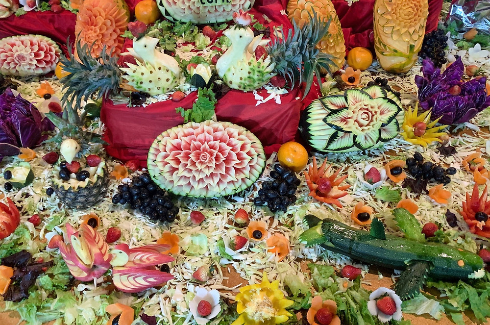 Colourful fruits and vegetables are packed with protective phytonutrients