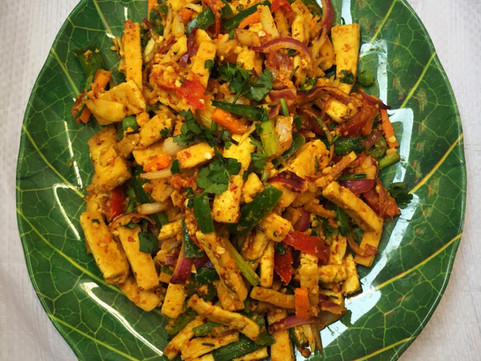 Tofu and Vegetable Salad