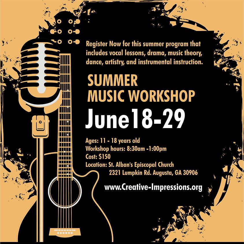 2018 Summer Music Workshop Registration