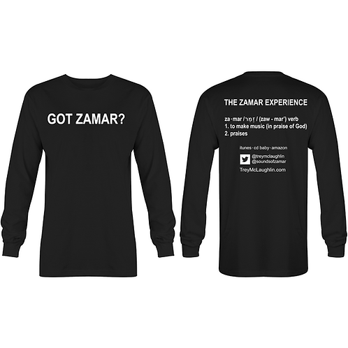 Got Zamar? Long-Sleeved Shirt