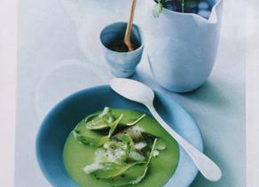 Dorade met groene bouillon