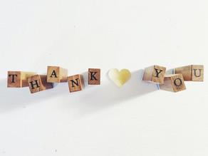 Dankjewel - merci - thank you - obrigada - Dankeschön - gracias - zonder jullie geen Studio U
