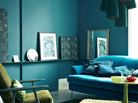 Colour Schemes for Interiors - Blue & Green