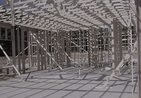 winery construction building frame