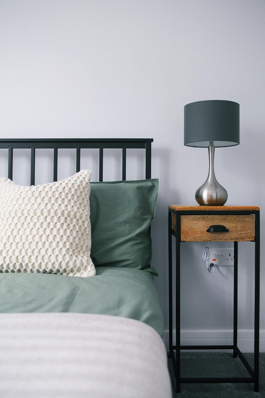 Industrial vintage bedroom