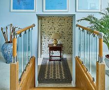 Blue hallway and stairs.jpg