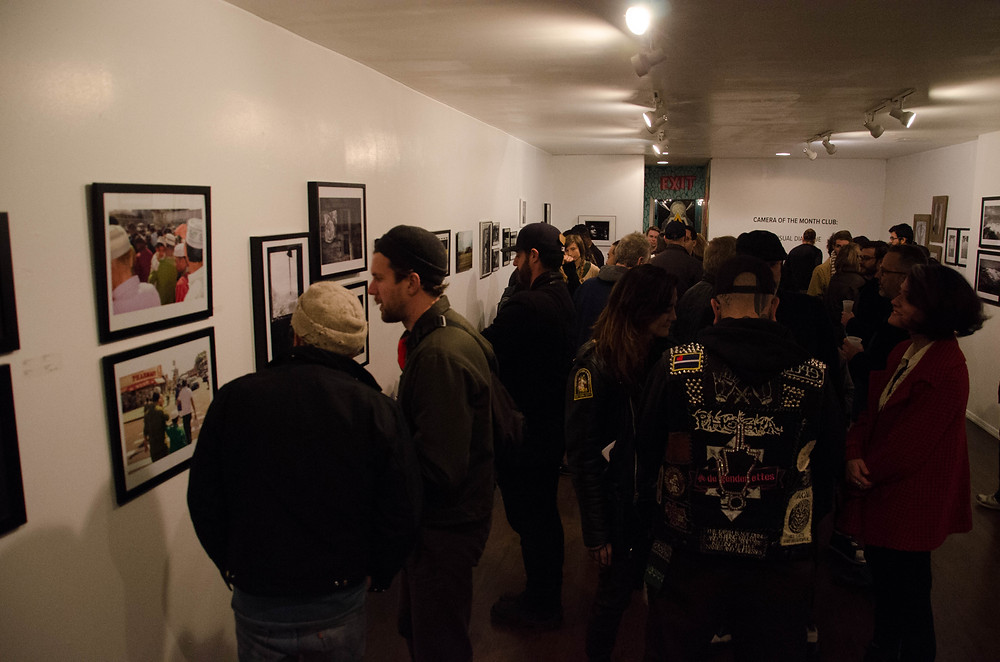 Awesome turn out for the Camera of the Month Club's 2 year anniversary show!