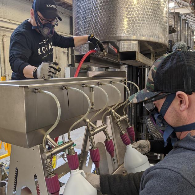 Hand Sanitizer Production