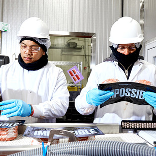 Impossible Foods Factory