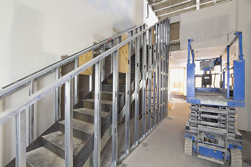 Metal Stud Partition Staircase.jpg