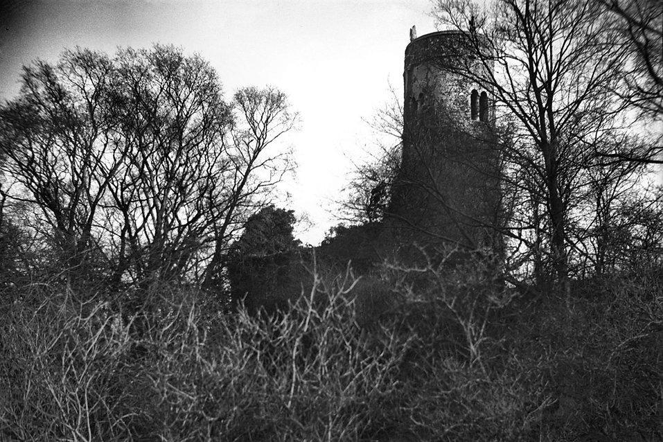 Whitlingham St Andrew's church ruin