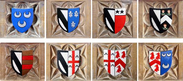Ashwellthorpe All Saints font panels