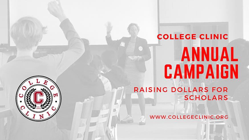 2019 College Clinic Fundraiser (FB event