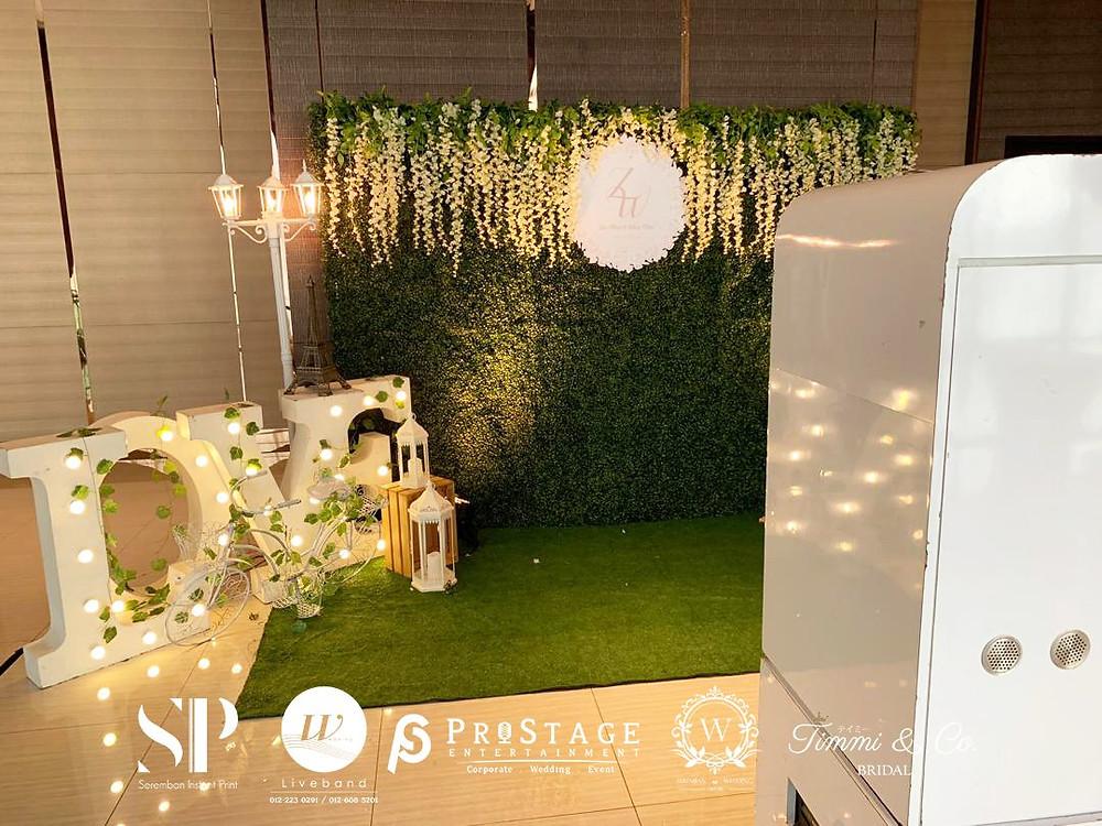 Garden Theme Photo Booth