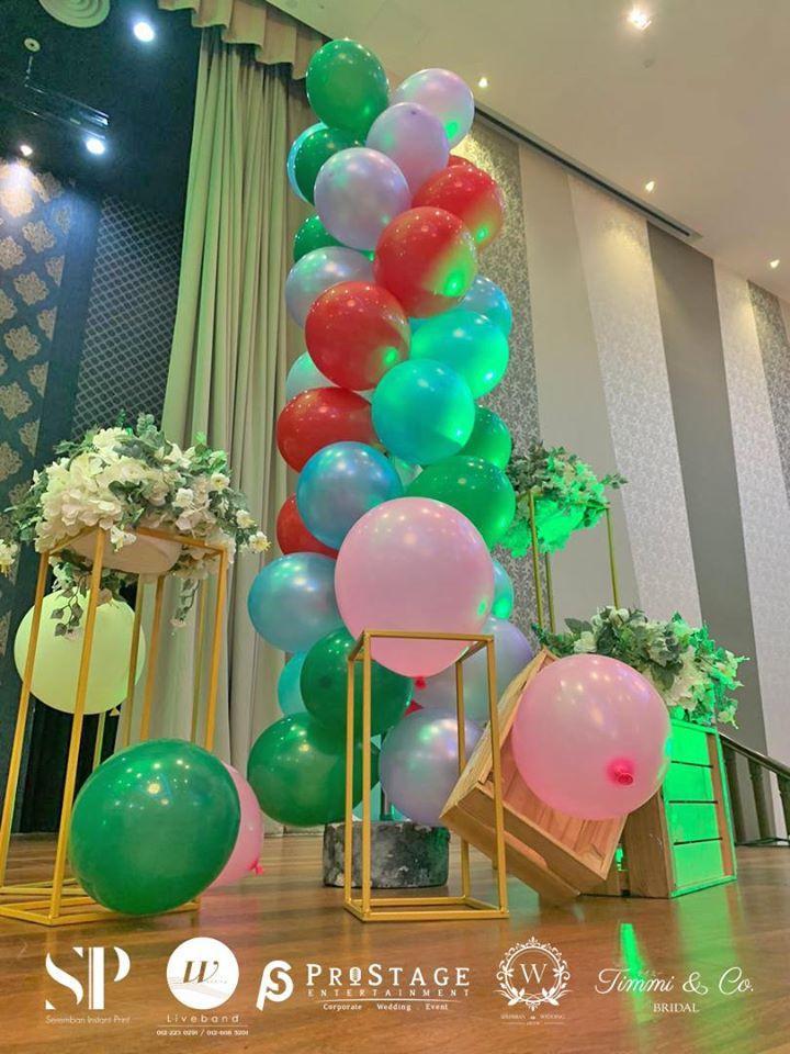 balloon stand