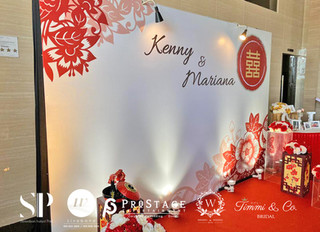 Photo Booth + Photo Corner + Reception + Vip Table + Walkway + Stage