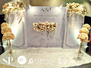 Photobooth +Walkway +PhotoCorner+  Reception Table +VIP Table+Stage Logo