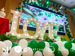 Stage Decoration +Table Decoration + Walkway