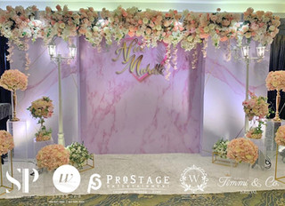 3D Photo Booth + Photo Corner + Reception Decoration + VIP Table + Walkway