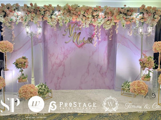 3D Photo Booth + Photo Corner + Reception Decoration + VIP Table + Walkway