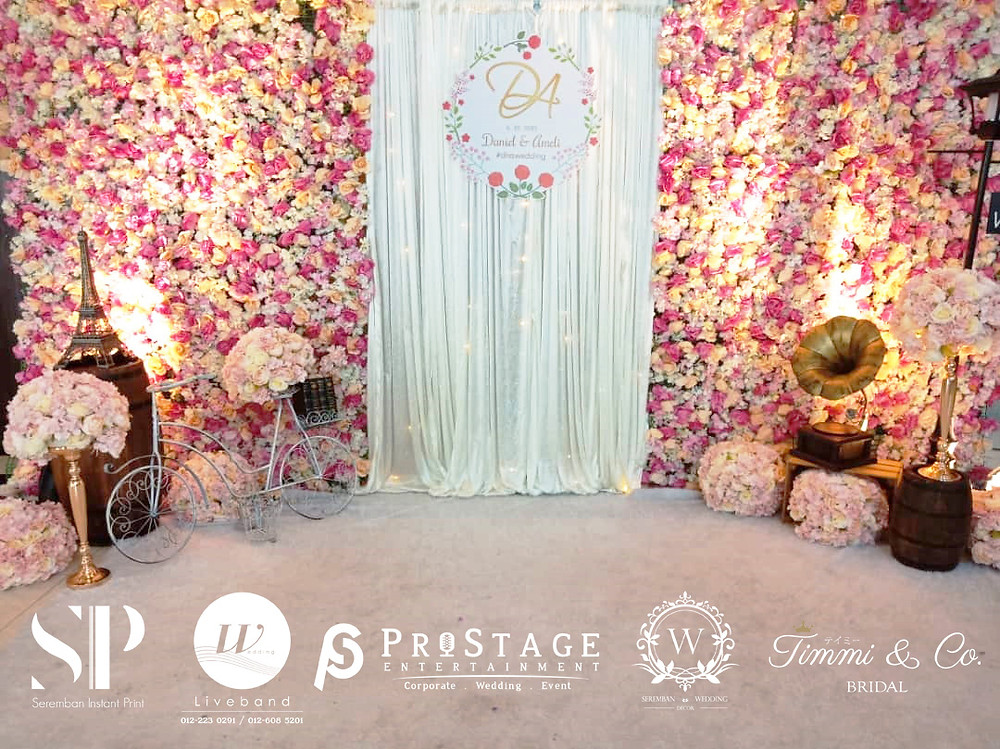 Flower Theme Photobooth