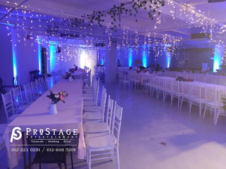 Hall Decoration + Live Band + Sound System + Stage Rent + Hall Lighting Decoration