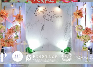 3D Photo Booth + Photo Corner + Reception Decoration + VIP Table + Walkway + Sound System + Instant