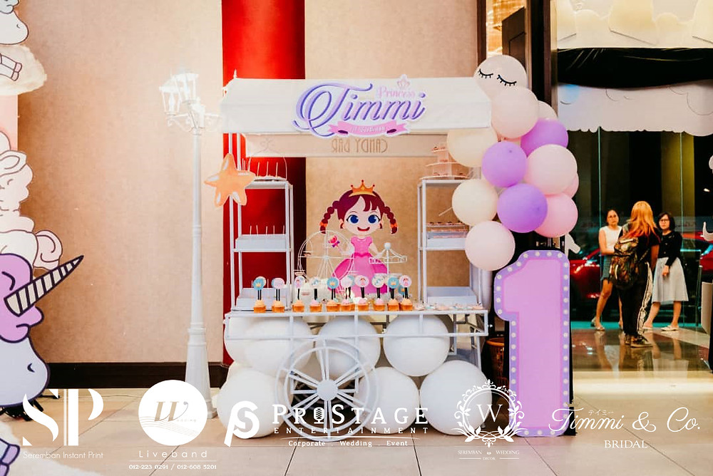 Candy Bar Booth