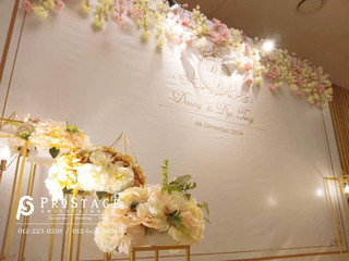 Flower Themed Photobooth + Professional Live Band