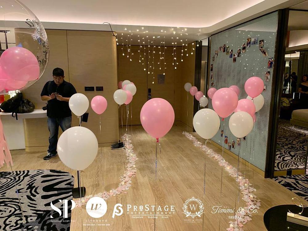 Balloon Walk Way