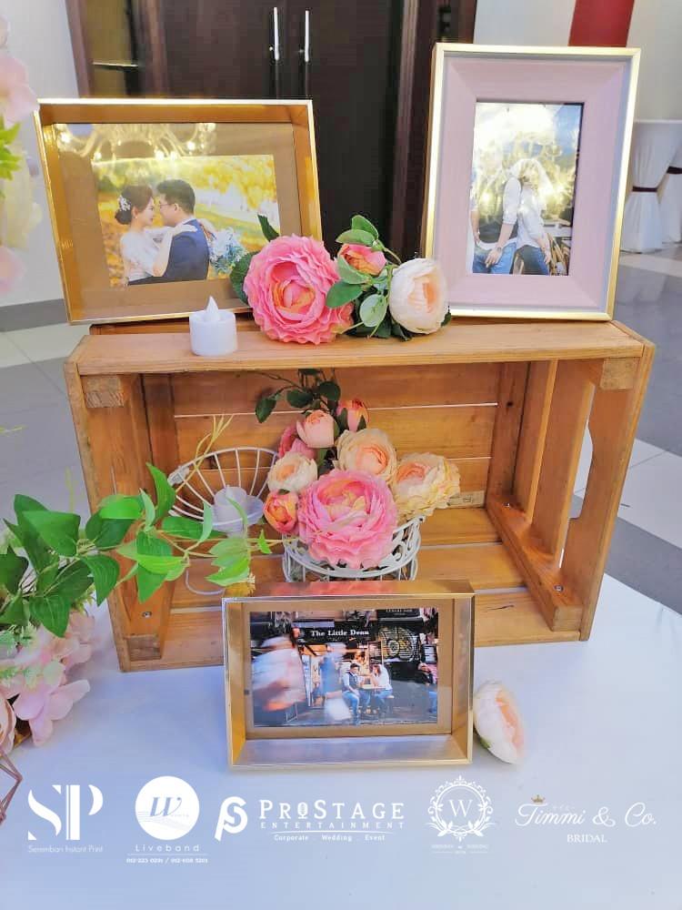 flower deco photo corner