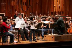 Robbie Coltrane & Peter Ash - LSSO The Minpins rehearsal