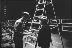 Danny de Vito & Peter Ash - Jack and the Beanstalk rehearsals