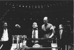 Danny de Vito, Donald Sturrock & Peter Ash - Jack and the Beanstalk rehearsals