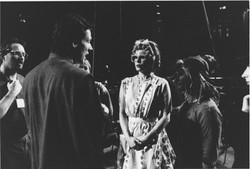 Donald Sturrock & Joanna Lumley - Jack and the Beanstalk rehearsals