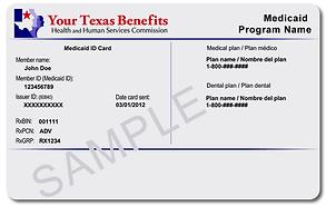 Medicaid member id card.png