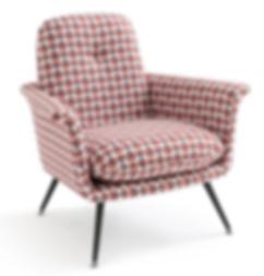 Motif textile fauteuil