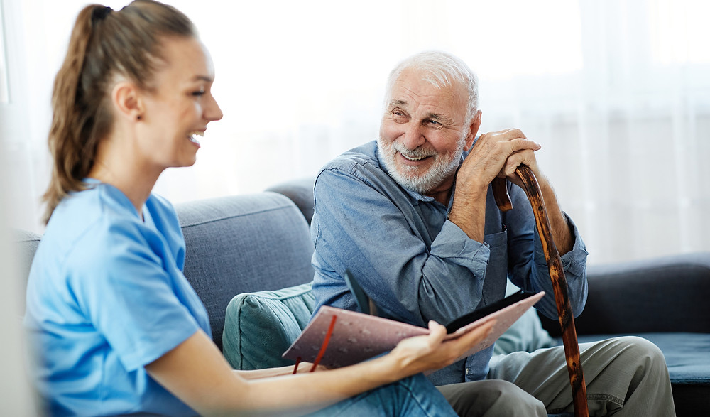Discussing Home Care Options