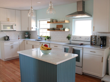 White Kitchen Remodel Reveal!