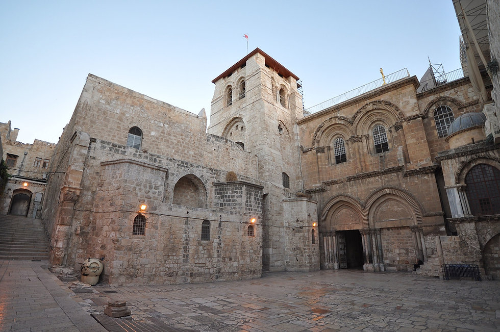 Church of the Holy Sepulchre; CC BY 2.0;