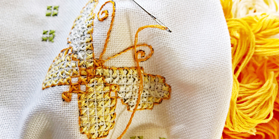 WORKSHOP SPRING EMBROIDERY FOR BEGINNERS