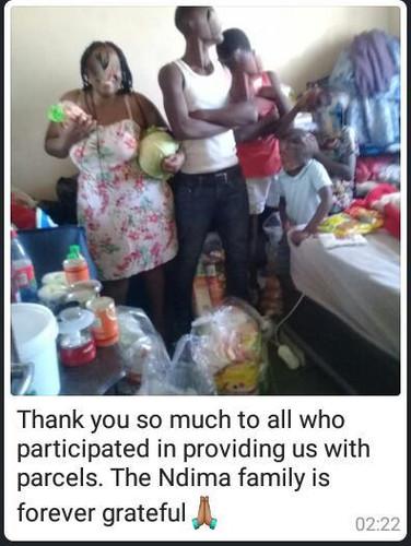 Ndima family from Gugulethu